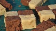 Ciocolata de casa in doua culori