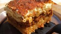 Pastitsio sau Lasagne de macaroane