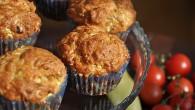 Muffins cu ton si zucchini