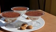 Prajitura Tiramisu in cupe