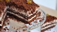Tort de ciocolata si portocale