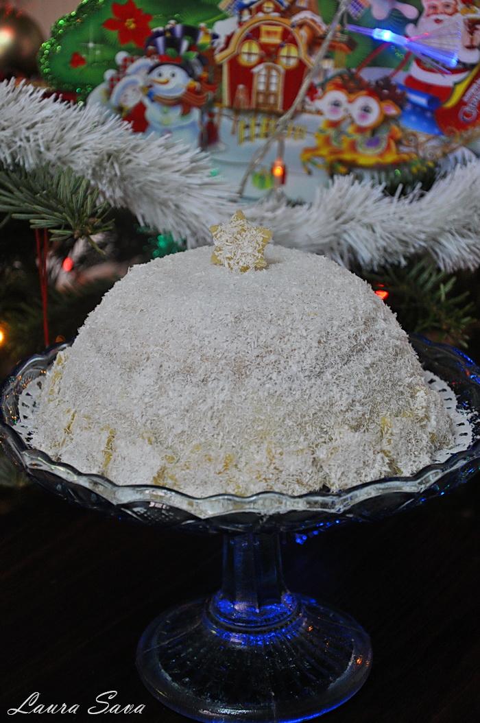Tort bulgare de zapada cu ciocolata si mascarpone_2