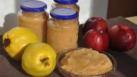 Marmelada de gutui cu mere