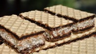 Napolitane cu nuca de cocos si ciocolata