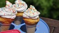 Ice Cream Cones Cupcakes