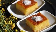 Revani, prajitura cu gris insiropata
