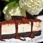 Cheesecake cu ciocolata alba
