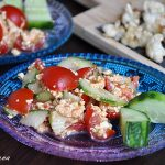 Salata rapida de post cu tofu