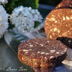 Salam de biscuiti cu ciocolata si napolitane