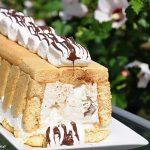 Tort inghetat cu marshmallows
